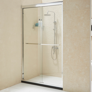 New Twin Door Temperd Glass 8MM Shower Enclosure Sliding Shower Door