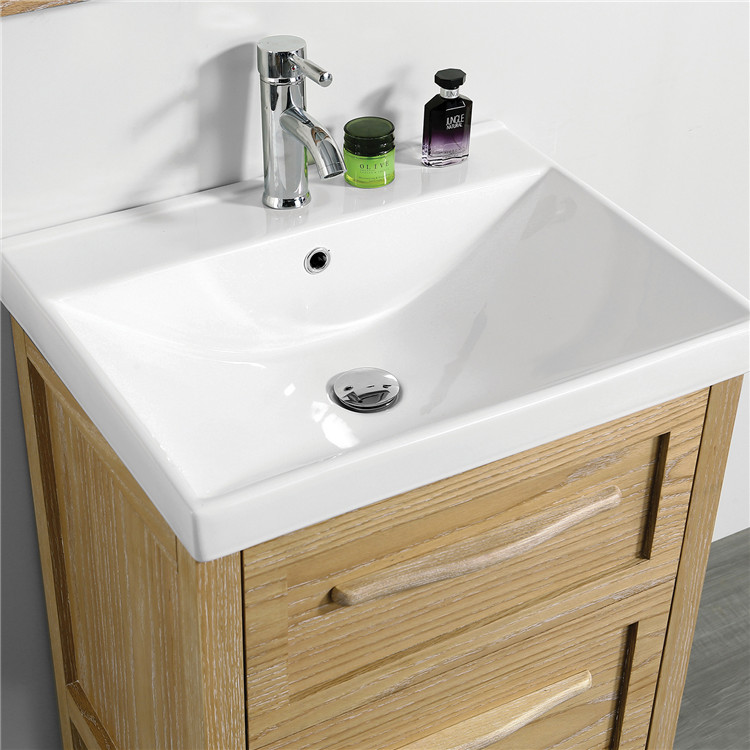 Bathroom Sink with Waterproof Bathroom Cabinet Furniture