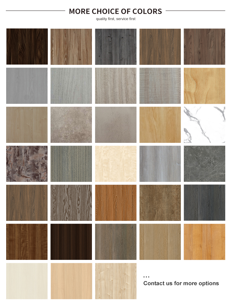 melamine color swatch panel