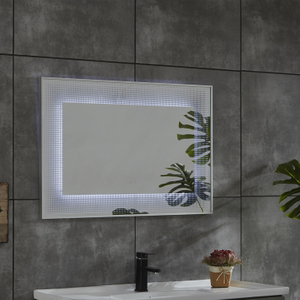 Mirror Makeup Decorative New Design High Quality Bath Vanity LED Vanity Bath Furniture in China Morden Style Mirror