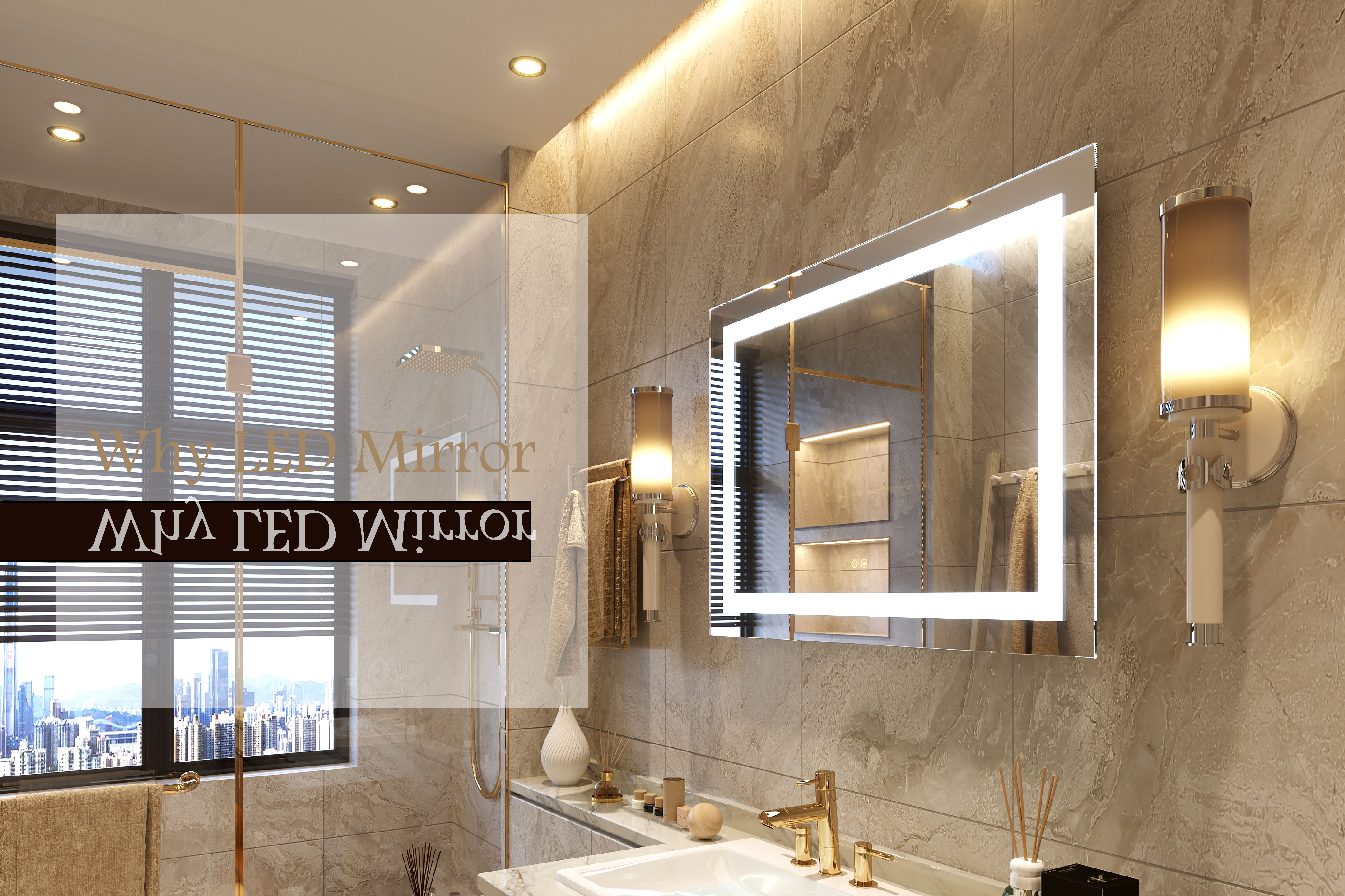 Why You Need One Backlit Mirror In Your Bathroom