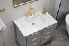 Entop Modern Three Drawer Bathroom Vanity