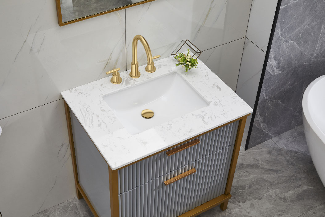 Luxury Modern PVC Bathroom Cabinets